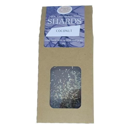 Coconut Milk Chocolate Shards