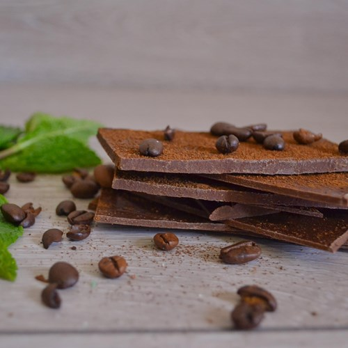 Coffee & Mint Dark Chocolate Shards