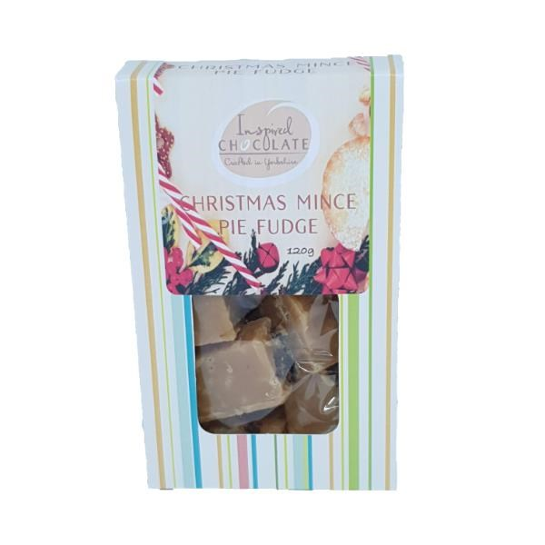 Christmas Mince Pie Fudge
