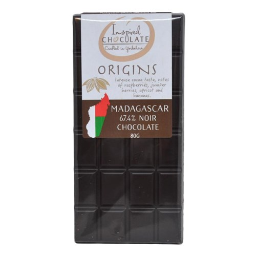 Single Origin Dark Chocolate Bar - Madagascar 67%