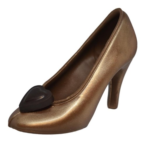 Chocolate Shoe - Bronze