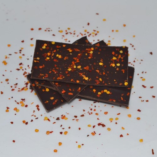 Chilli Dark Chocolate Shards