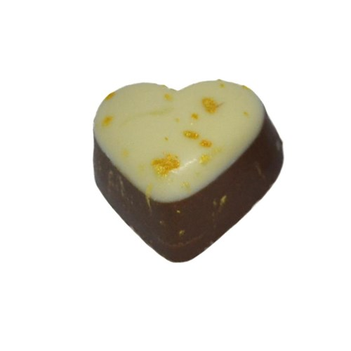 Gold Caramel Heart