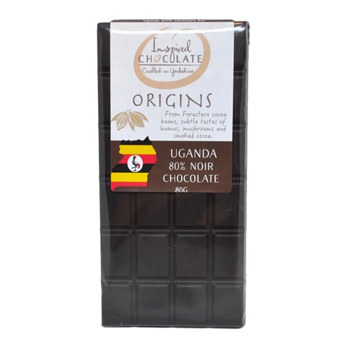 Single Origin Dark Chocolate Bar - Uganda 80%