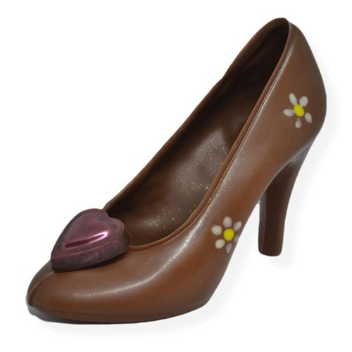 Chocolate Shoe - Flowers