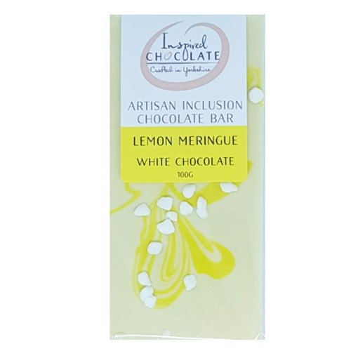 Lemon Meringue Inclusion White Bar