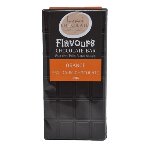 Free From Dairy Dark Orange Bar