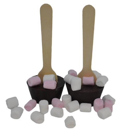 Hot Chocolate Stirrers - Dark
