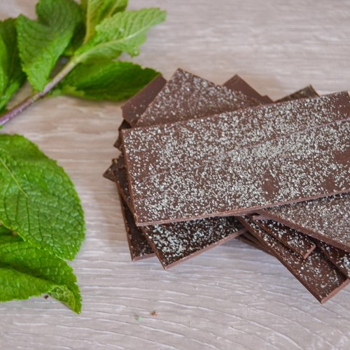 Mint Dark Chocolate Shards
