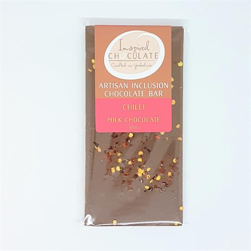 Chilli Inclusion Bar - Milk