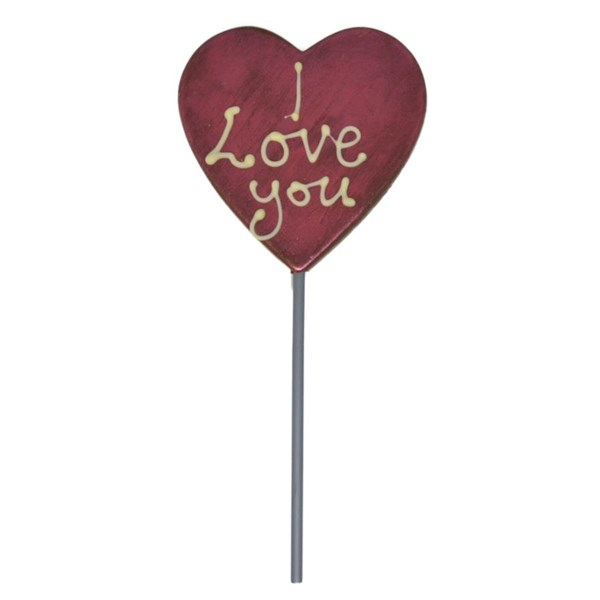 Chocolate Lolly - I Love You