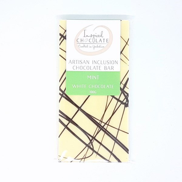 Mint Inclusion White Chocolate bar