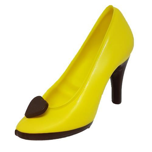 Luxury Chocolate Shoe - Yellow