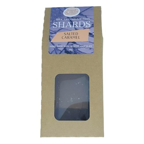 Salted Caramel Milk Chocolate Shards