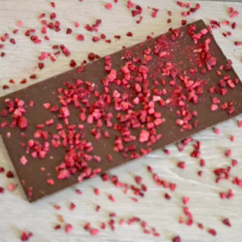 Raspberry Dark Inclusion Bar
